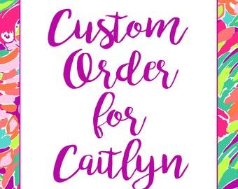 Custom Invitations for Caitlyn