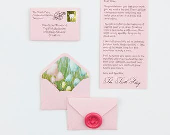Miniature Tooth Fairy Little Letter