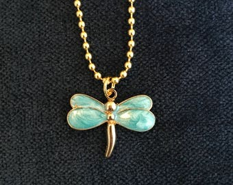 Dragonfly Necklace Dragonfly Jewelry