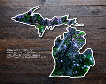 Michigan Mitten Vinyl Decal Sticker A31
