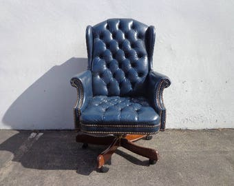 Antique office chair   Etsy. Antique Wooden Office Chairs With Casters. Home Design Ideas