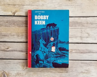 Adventures Of Bobby Keen Betty Swinford Mystery Teen Adventure Christian Fiction Boys Action Book Christ Centered Tale Cobalt Blue Decor 60s