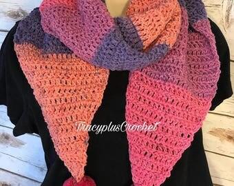 Scarf. Crochet Scarf.