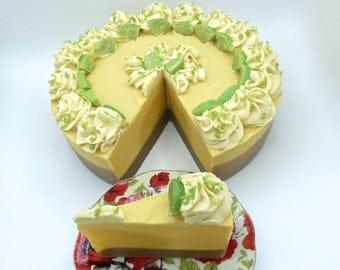 Key Lime pie artisan soap
