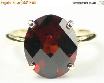 On Sale, 30% Off, Mozambique Garnet, 14Ky Gold Ring R055