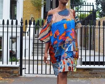 Carla Original mix Ankara Dress African Clothing African print Dresses