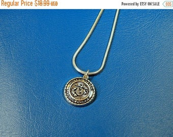 SALE USMC Charm Necklace Marine necklace