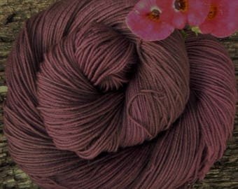 MERINO SOCK wool, 2 available, hand dyed,  4 ply, fingering, 100 gms, 425 mts, Mollycoddle Yarns, indie dyer