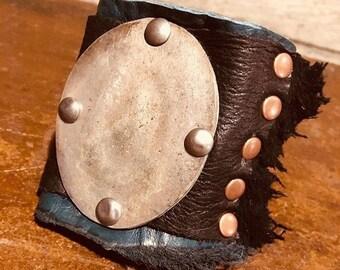 Silver Shield Cuff