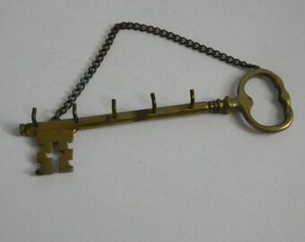 Vintage Home Decor Brass Key Hook
