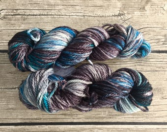 Bibbidy-Bobbity-Boo - Hand Dyed Superwash Merino Yarn - Bulky/ Chunky Weight Yarn - Hand Dyed Yarn