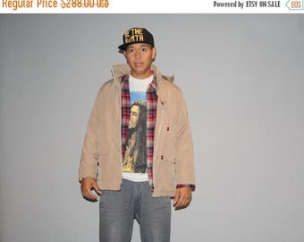 Closing SALE - 1990s Prada Men's Hooded Designer Vintage Jacket  - Prada Men's Coat - Vintage Prada Jackets  - M00225