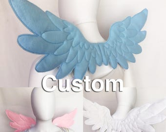Angel Wings custom color Feather Wings bird wings My Little Pony Wings Cosplay Wings Costume Wings for adults or children