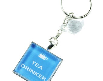 TFB - TEA DRINKER Keyring Chain
