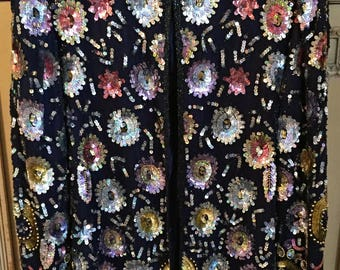 Free Christmas/New Years Shipping Vintage Jean for Joseph Le Bon Sequin Jacket