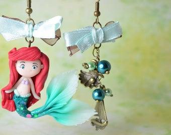 Disney Inspired Ariel Earrings