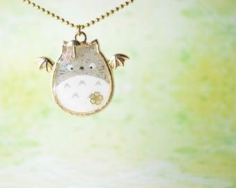 Studio Ghibli Inspired Totoro Necklace
