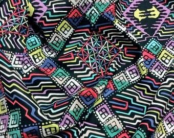 "Philip Jacobs ""Snow Leopard Designs"" Tribal Kira PWSL048 Amazon Free Spirit Fabric"