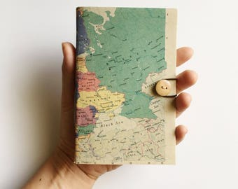 Map Notebook , A5 A6 Notebook - EUROPE