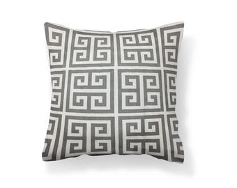 18''X18'' Grey Towers Decorative Pillow Cover