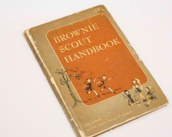 Girl Scout Leader, Vintage Girl Scouts, Troop Leader Gift, Girl Scout Brownie Gift, Girl Scout Gift, Scout Leader Gift, Girl Scout Book,