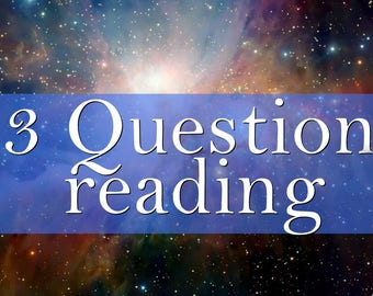 Same Day Psychic Reading || 3 question Psychic reading || Intuitive reading || Oracle Cards || Guides || Tea Leaves || 24 hours Email pdf