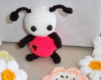 Lavinia, ladybug amigurumi