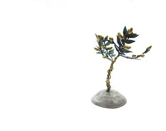 Bronze sculpture of olive tree , Handmade in Greece , Wedding aniversarry gift , Δεντρο ελιας μπρουτζινο