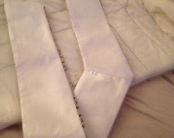 Ivory Deacon Clergy Stole Customize with added symbols