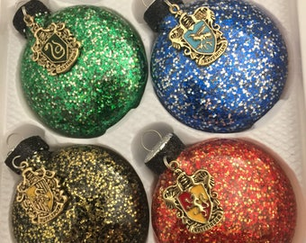 Harry Potter inspired christmas ornaments
