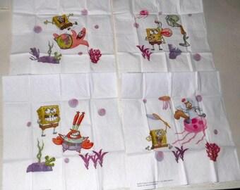 SPONGE BOB /Napkins 4 tissues