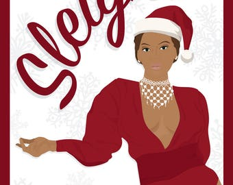 Sleigh All Holiday Beyoncé Card - Instant Download