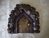 Fairy Door | Bronze Purpl...