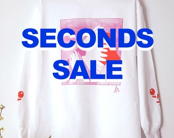 Pink and Red Flowergazer tee SECONDS SALE all sizes