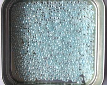 """pretty little Pearl """"Miyuki"""" micro-ball blue color"""