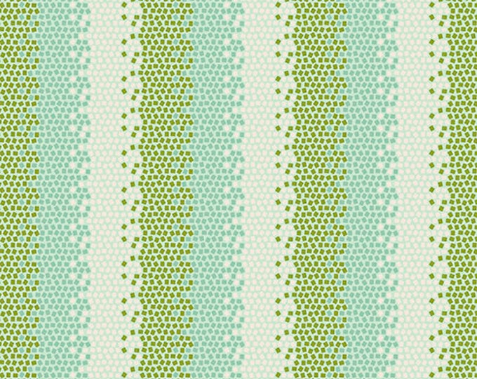 TILDA LEMONTREE - Mosaics Green 100020 - 1/2 yard