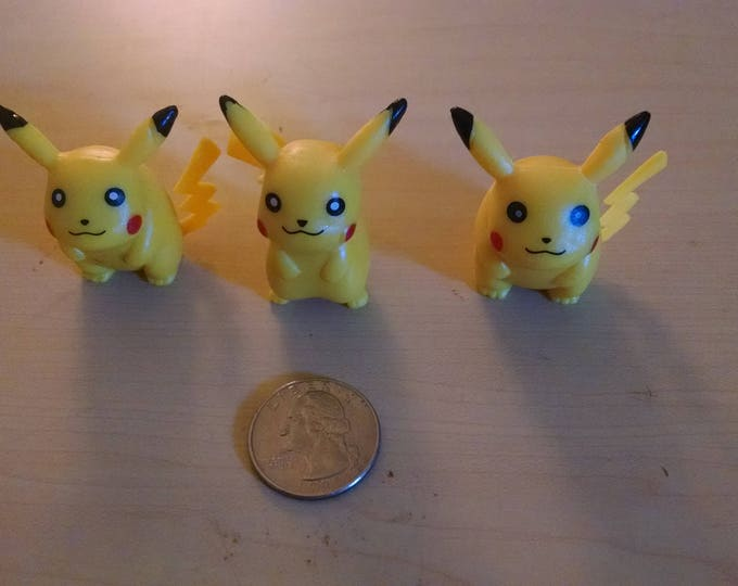 Small Pokemon Minifigures - 1.5 inch