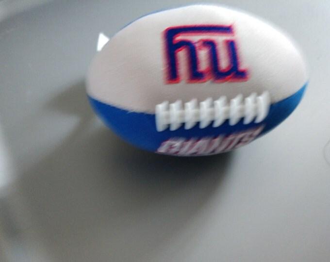 5 inch Plush New York Giants Football