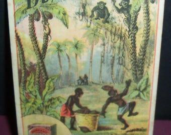 Dunham's Cocoanut Victorian trade card