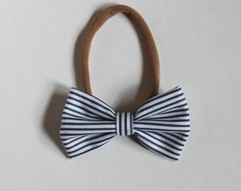 Minnie - Blue Haze Stripe *NYLON ONLY*