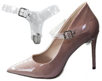Transparent Full Detachable Shoe Straps ShooStraps