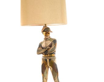 Marbro -Beautiful Mid Century Table Lamp Harlequin by St. Marceaux