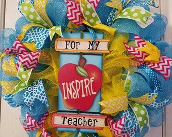 Teacher Wreath