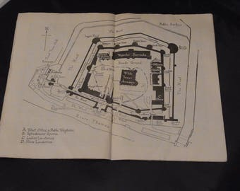 Vintage Paperback Booklet: The Tower of London Published by His Majesty's Stationery Office 1947