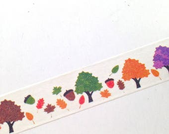 Fall Washi Tape, Washi Tape, Planner Washi Tape, Scrapbooking, Thanksgiving washi