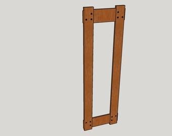 Private Listing For Christy - 36x8 Mortise and Tenon Frame