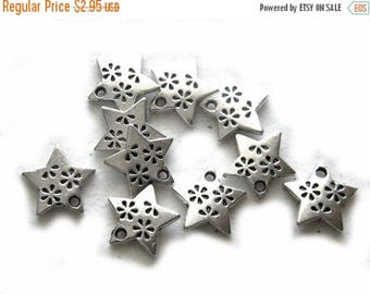 HALF PRICE 10 Silver Star Charms