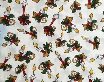 Christmas Critters coordinating fabric (sold by the yard)