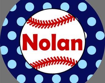 Baseball Melamine Plate