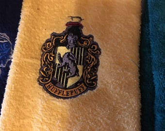 Made to order Hogwarts House towel